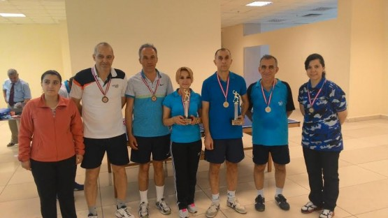 3. Sağlık Çalışanları Masa Tenisi Turnuvası Sona Erdi