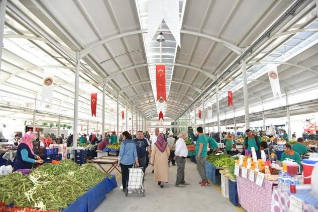 Alanya salı pazaraı açılışı