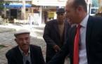 DP adayı Gündoğan çarşı ziyaretinde