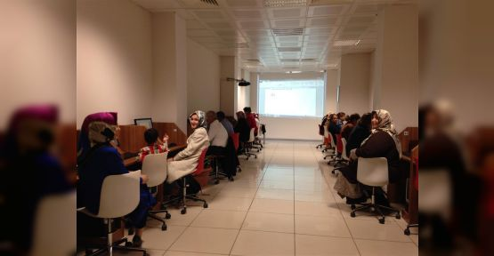 Ücretsiz Bilgisayar Kursu Emine Hacıkura Kütüphanesi'nde başlıyor.