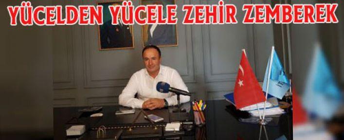 Apaydın, Alanya Belediye Başkanı Adem Murat Yücel'e yönelik sert eleştirilerde bulundu.