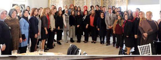 Cumhur İttifakı'nın kadın kolları özel seçim ofisini Bugün Açıyor.