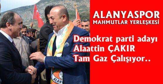 Demorat Parti Adayı Çakır'dan Alanyaspor Mahmutlar yerleşkesi önerisi