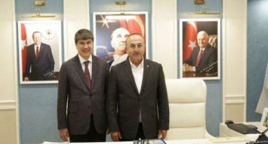 Dışişleri Bakanı Mevlüt Çavuşoğlu ve Menderes Türel Alanya'ya Geliyor..
