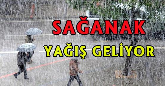 Sağanak Yağış UYARISI..