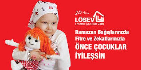 """Lösev Ramazanda Ailelerinin Sofrasını Hayırseverlerin Fidye Ve Zekatlarıyla Donatmaya Devam Ediyor"""""""