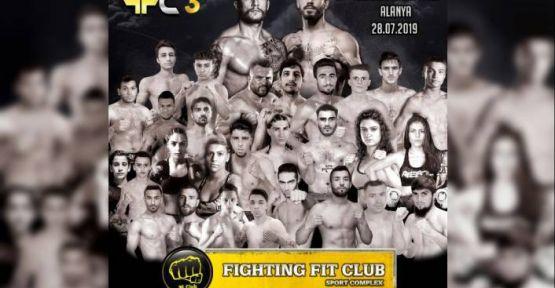 Kickboks FFC 3 Şampiyonası Alanya da Yapıldı.