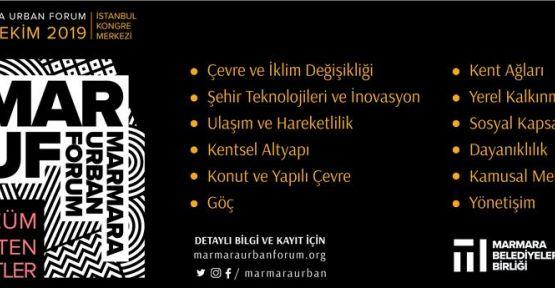 """""""ÇÖZÜM ÜRETEN KENTLER"""" YARIN İSTANBUL'DA BULUŞUYOR"""