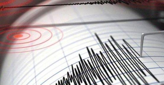 Antalya' da Deprem