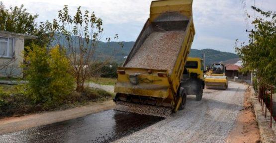 Köy Yolları Asfaltlanıyor