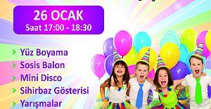 Agora Alışveriş Merkezi'nde Doğum Günü Partileri Başlıyor!