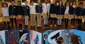 Agora'da İstek Yeditepe Koleji Öğrencileri Resim Sergisi İle Gökyüzünü Renklendirdi!