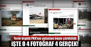 PKK  Terör Örgütünün sosyal medya yalanları