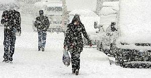 Türkiye'ya kar geliyor...