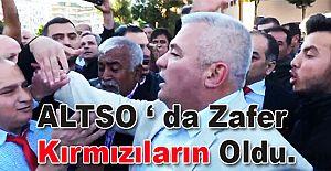 ALTSO Mehmet Şahin'le yola devam dedi.