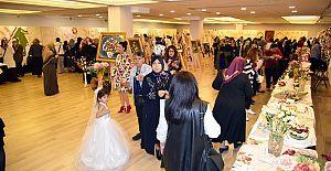El Sanatları Sergisi'nin açılışı gerçekleştirildi.