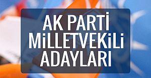 AKP nin  27. Dönem Antalya Milletvekili Aday Listesi