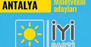 iyi Partinin 27. Dönem Antalya Milletvekili Adayları
