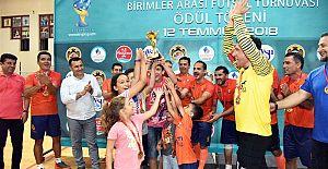 Futsal' Da Şampiyon Spor İşleri Müdürlüğü