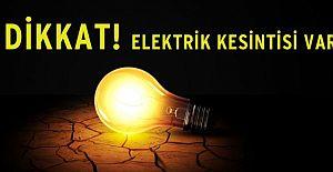 Elektrik Kesintisi Olan Mahalleler