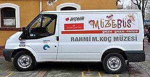 Müzebüs'ün Antalya turu, 11 Şubat tarihinde Obaköy Ortaokulu ile başlayacak