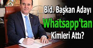 Belediye Başkan Adayı WhatsApp Grubundan...