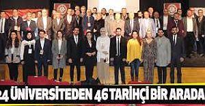 24 ÜNİVERSİTEDEN 46 TARİHÇİ BİR...
