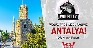 Wolfcity turnuvası Antalyadan start...