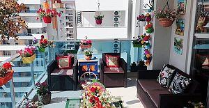 Alanya'nın En Güzel Balkon Ve En Güzel Bahçesi Belli Oldu.