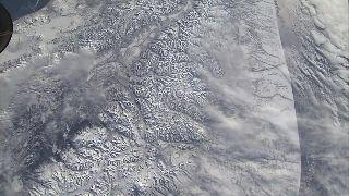 ABD'li Astronat çektiği yerküre görüntülerini yayı