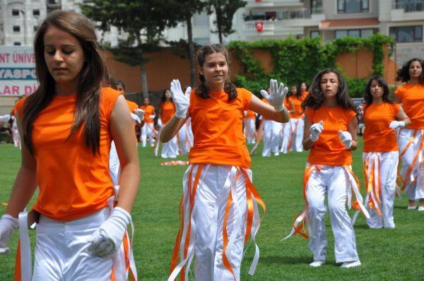 Alanya'da, 19 Mayıs Atatürk'ü Anma Gençlik ve Spor