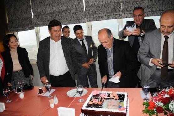 Kerim Aydoğan,Hasan Sipahioğlu ve belediye çalışan