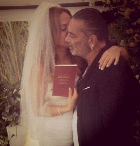 Ayşe Özyılmazel ve Ali Taran düğününden fotoğrafl