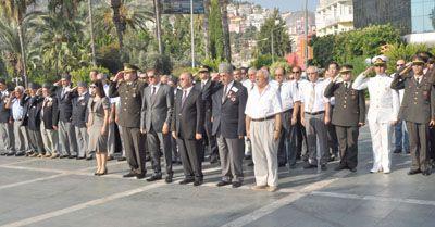 Alanya 'da 19 Eylül Gaziler Günü, Kutlandı