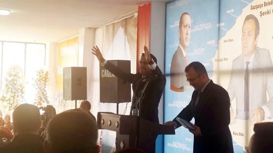 Gazipaşa Akparti Belediye Başkan aday adayı Şevki