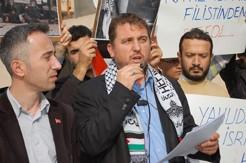 israil'e protesto