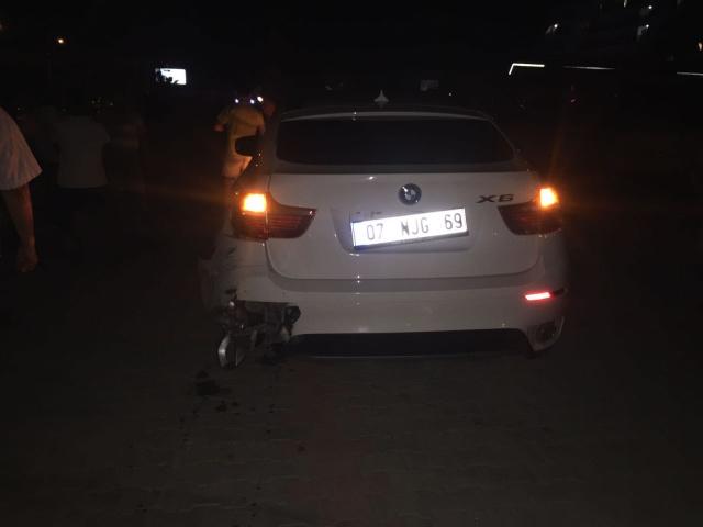 Alanya Mahmutlarda Kaza