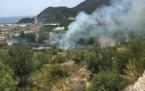 Alanya Yat Limanında Yangın
