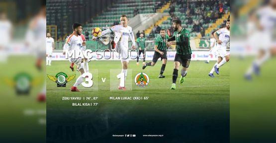 Akhisarspor 3 - 1 Alanyaspor