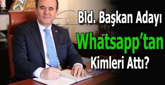 Belediye Başkan Adayı WhatsApp Grubundan Kimleri Attı?