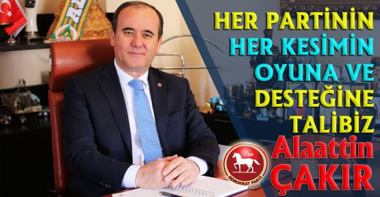 ÇAKIR, ALANYA'DA DEĞİŞİMİ BAŞLATACAĞIZ!