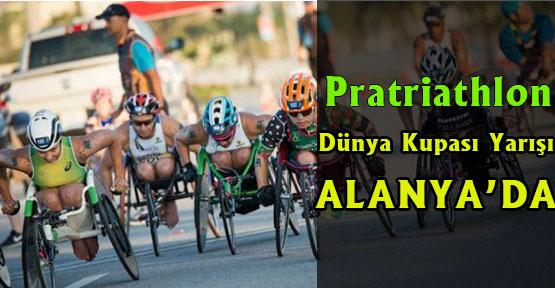 Pratriathlon Dünya Kupası Yarışı Alanyada Yapılacak