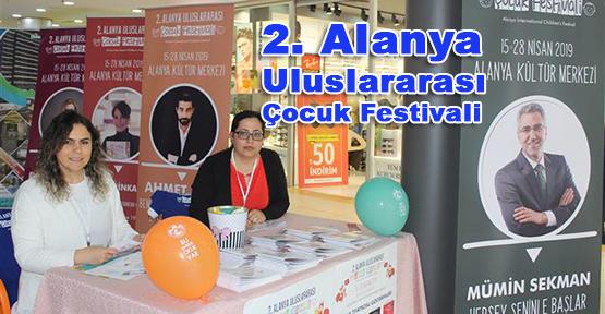2. Alanya Uluslararası Çocuk Festivali tanıtımları devam ediyor.