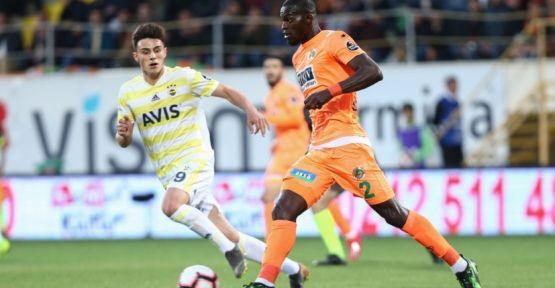 Aytemiz Alanyaspor:1- Fenerbahçe :0