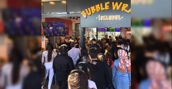 Bubble Wrap İstanbul'un, yeni durağı Antalya oldu…