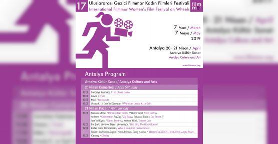 Filmmor Kadın Filmleri Festivali Antalya'da