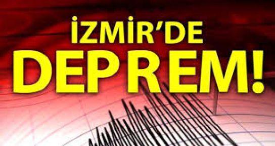 İzmir'de 6,6 şiddetinde DEPREM