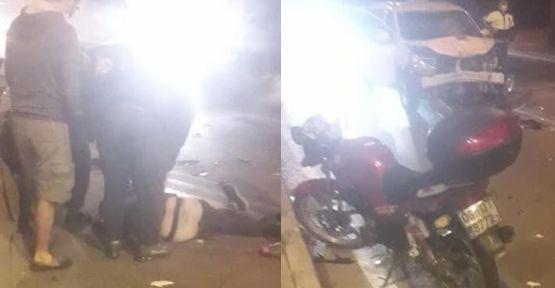 Alanyada Trafik Kazası