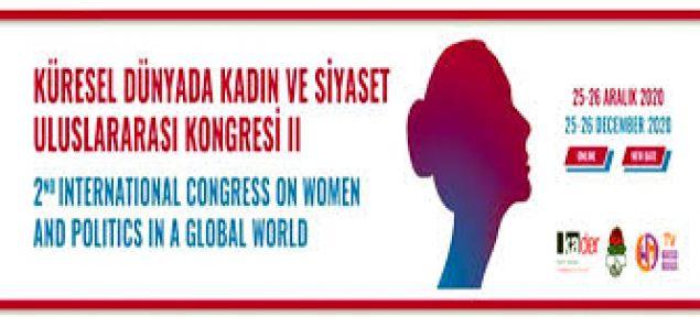 Uluslararası İlk Çevrimiçi Kadın Kongresi Geniş Bir Katılımla Gerçekleştiriliyo