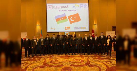 PTT AŞ VE AZERPOST ARASINDA İŞ BİRLİĞİ PROTOKOLÜ İMZALANDI